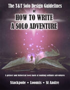 T&T Solo Design Guidelines: HOW TO WRITE A SOLO