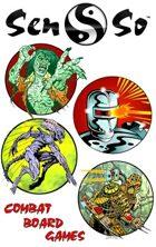 Horror & Sci Fi Combat Board Games [BUNDLE]