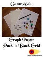 Graph Paper Pack 1: Black Grid