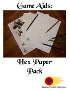 Graph Paper Pack: Hex Grid