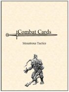 Combat Cards: Monstrous Tactics