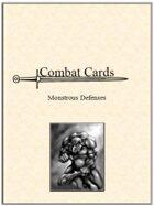 Combat Cards: Monstrous Defenses