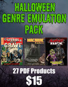 Halloween Genre Emulation Pack [BUNDLE]