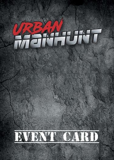 Urban Manhunt — Event Deck - Spectrum Games