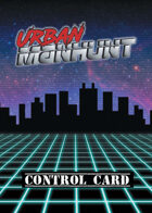 Urban Manhunt — Control and Crim Decks