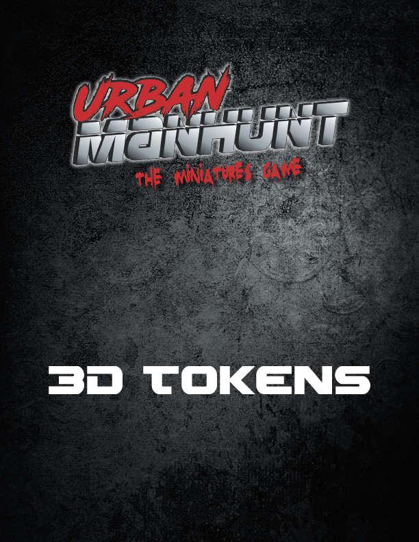 Urban Manhunt: 3D Tokens - Spectrum Games