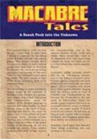 Macabre Tales Sneak Peek