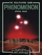 Phenomenon: Official Rules—core rules