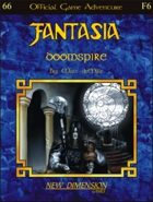 Fantasia: Doomspire--Adventure F6