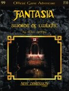 Fantasia: Swords Of Twilight--Adventure F10