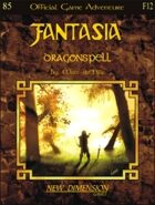 Fantasia: Dragonspell--Adventure F12