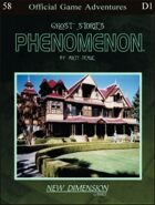 Phenomenon: Ghost Stories--Adventure pack D1