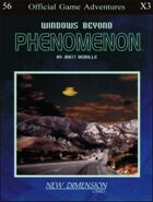Phenomenon: Windows Beyond--Adventure pack X3