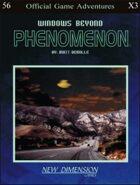 Phenomenon: Windows Beyond--Adventure pack X3