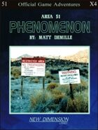 Phenomenon: Area 51--Adventure pack X4