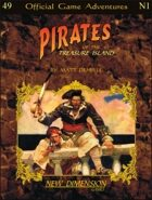 Pirates: Treasure Island--Adventure pack N1