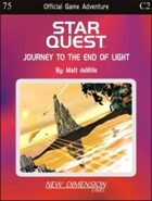 Starquest: Journey to the End of Light--Adventure C2