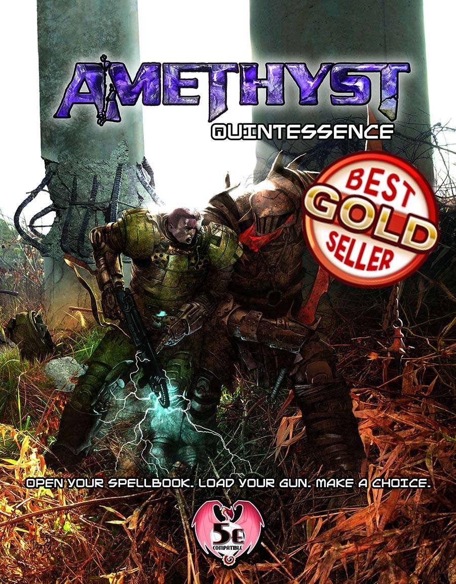 Amethyst quintessence 5e dias ex machina games drivethrurpg fandeluxe Image collections