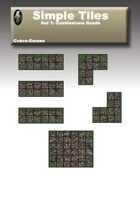 Simple Tiles Set 1: Cobblestone Road