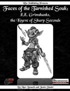 Faces of the Tarnished Souk: Z.Z. Grimshanks, the Knave of Sharp Seconds  (PFRPG)