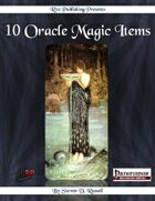10 Oracle Magic Items (PFRPG)