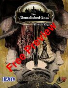 The Demolished Ones (Fate) Free Preview