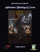 Addendum: Blessings & Curses (Diceless)
