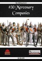 #30 Mercenary Companies (PFRPG)