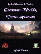 Gossamer Worlds: Verse Arcanum (Diceless)