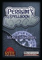 Perram's Spellbook: Magus Spellcards (PFRPG)