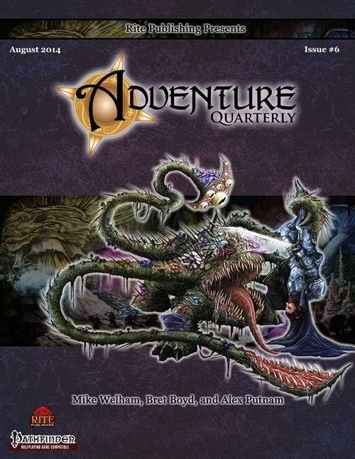 Adventure Quarterly #6 (PFRPG)