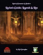 Lucien's Guide: Legends & Lies (Diceless)