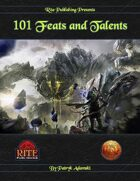 101 Feats and Talents