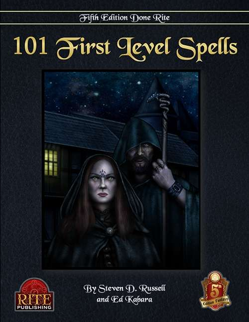 101 1st Level Spells (5E)