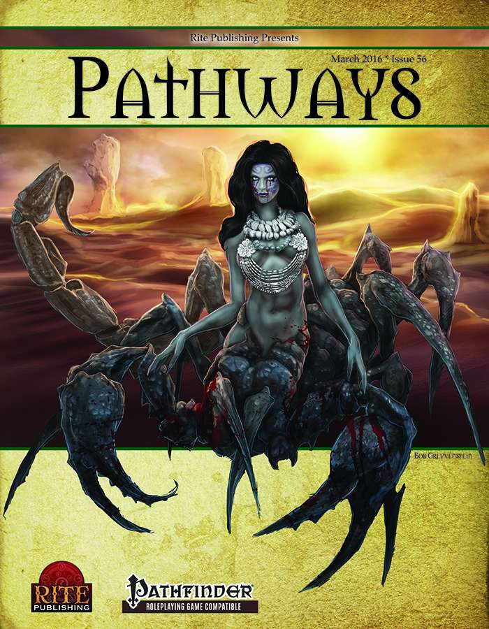 Pathways #56 (PFRPG)