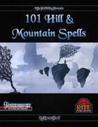 101 Hill & Mountain Spells (PFRPG)