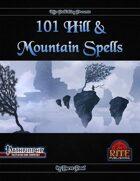 101 Hill & Mountain Spells (PFRPG)