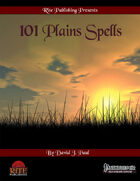 101 Plains Spells (PFRPG)