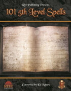 101 5th Level Spells (5E)