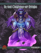 In The Company of Spirits (PFRPG)