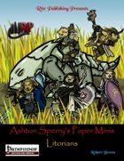 Ashton Sperry's Paper Minis: Litoirans (PFRPG)