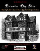 Evocative City Sites: Kavit M. Tor's Emporium of Collectible Curiosities