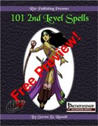 101 2nd Level Spells Free Preview (PFRPG)