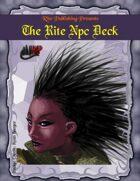 The Rite Npc Deck