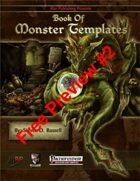 Book of Monster Templates Free Preview #2 (PFRPG)
