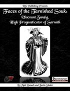 Faces of the Tarnished Souk: Viscount Zanzig, the Crystal Seer, High Prognosticator of Sarnath (PFRPG)