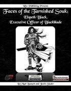 Faces of the Tarnished Souk: Elspeth Black, Executive Officer of Blackblade (PFRPG)