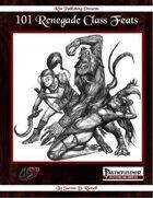 101 Renegade Class Feats (PFRPG)