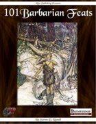 101 Barbarian Feats (PFRPG)