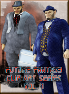 Future Fantasy Clip Art - Orcs About Town